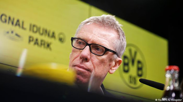 Borussia Dortmund Fires Coach After Just 167 days In Charge, Announces Replacement