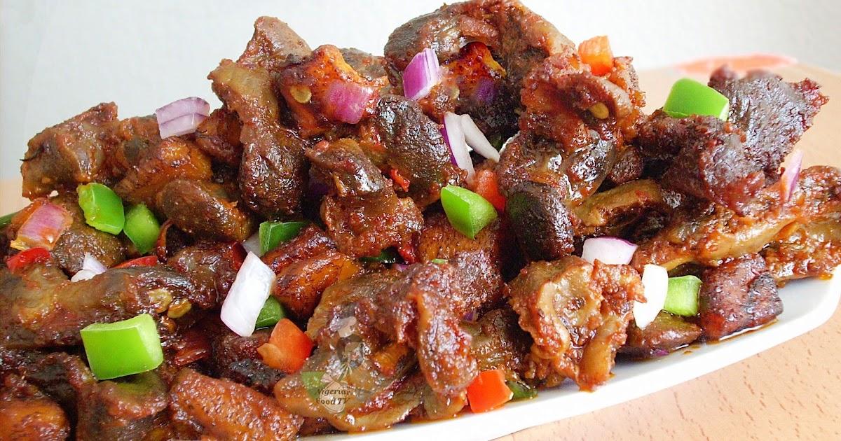 Nigerian Food Recipe App