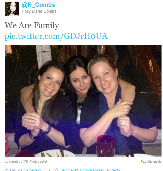 Shannen Doherty Holly Marie Combs Reunite