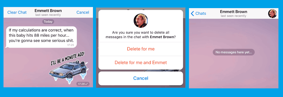 Telegram Messenger App is introducing a new kind of private communication: unsend any message, anonymized forwarding and more