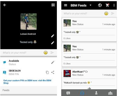 Download BBM Mod Blackberry V8 Versi 2.11.0.18 Apk