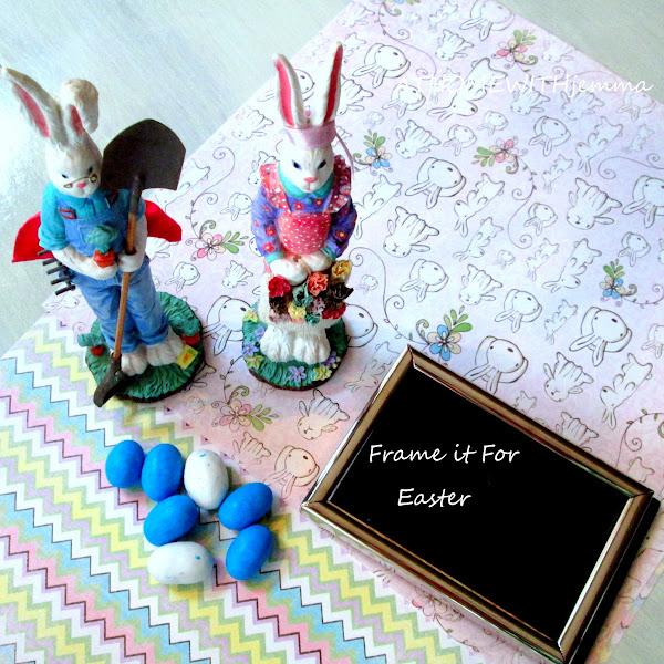 Frame It For Easter-DIY