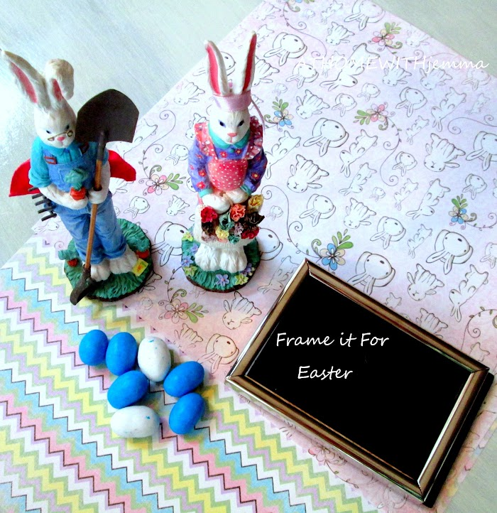 Frame It For Easter-DIY