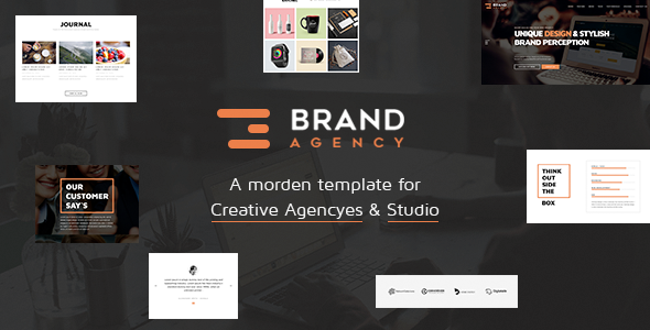 One Page HTML Bootstrap Template