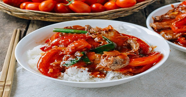Beef Tomato Stir-fry Recipe