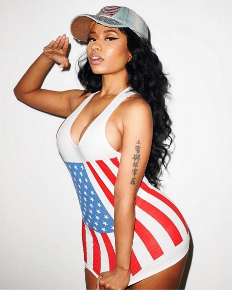 A fan Wrote to Nicky Minaj that US Independent day is not a celebration day for African American