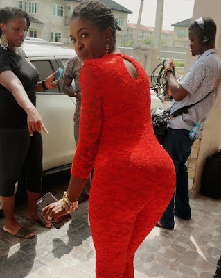Actress Omoni Oboli's hubby orders her home after he saw this naughty photo