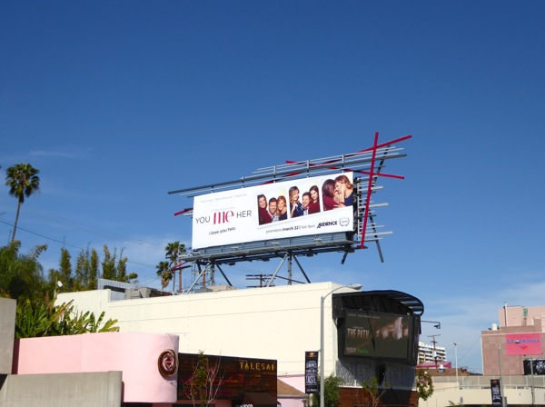 You Me Her series billboard