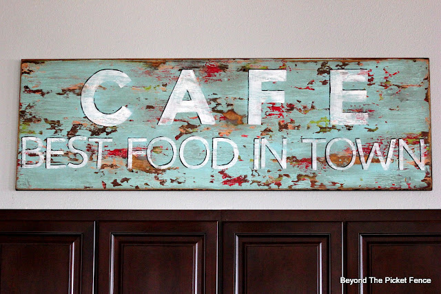 Vintage Style Cafe Sign