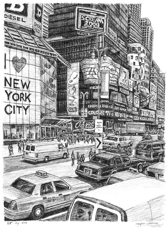 01-Times-Square-New-York-City-Stephen-Wiltshire-Urban-Drawings-from-Memory-with-Detailed-Cityscapes-www-designstack-co