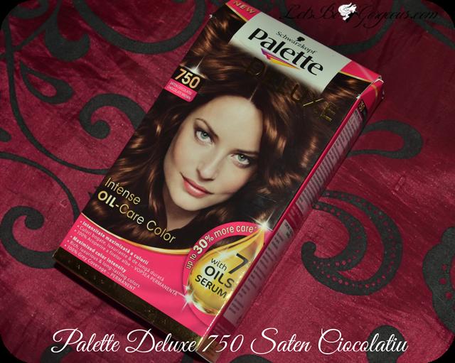 Vopsea Palette Deluxe șaten Ciocolatiu 750 Poze înainte