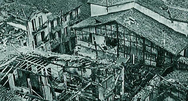 Durango se querellará contra los pilotos italianos que bombardearon la villa en la Guerra Civil