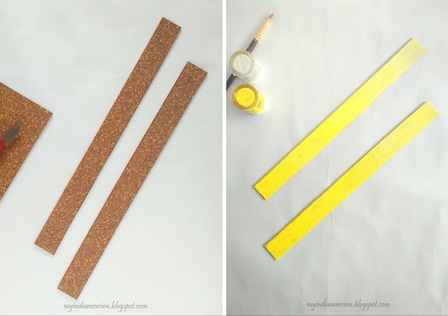 cut-cork-board-in-rectangle-and-paint-it-ombre-effect-myindianversion-blog