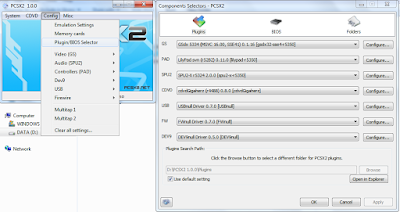 Plugin Settings PCSX2 full speed