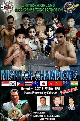 OPBF Convention Fight Night in Palawan