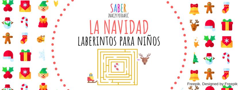 LA NAVIDAD: laberinto para niños | BOŻE NARODZENIE: labirynt dla dzieci