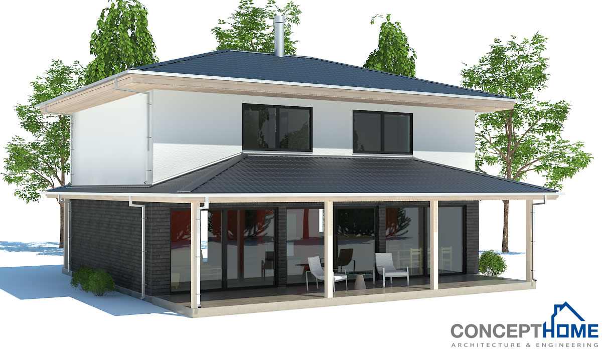 Economical House 2013 187CH 2 web - Download Low Cost Small House Design 3 Bedrooms Background