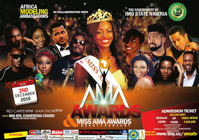 African Stars, Brand Ambassadors Storm Imo for AMA Awards 2016