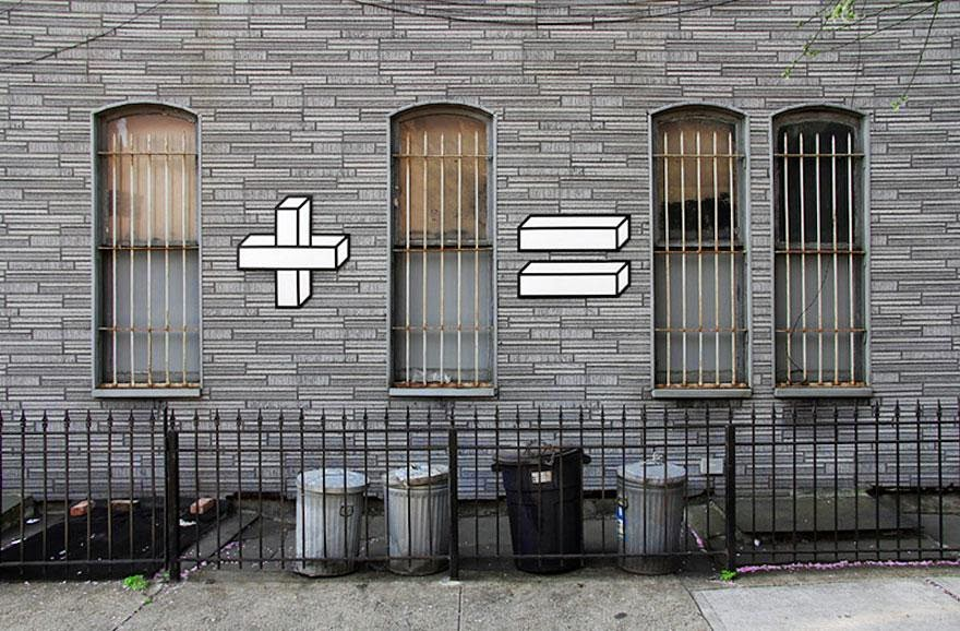 28 Pieces Of Street Art That Cleverly Interact With Their Surroundings - Sum Times