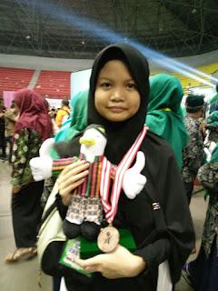 Subhanallah, Najwa Karawang Juara Sains Tingkat Nasional 2017