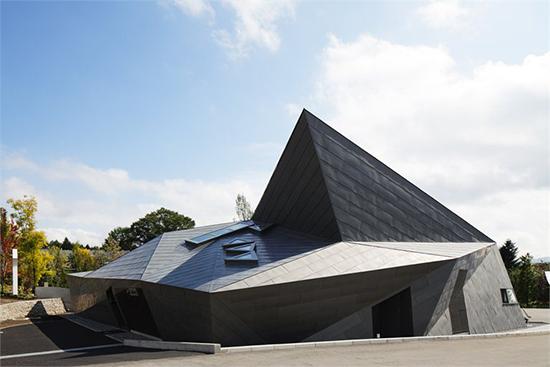 inspirasi contoh Atap origami