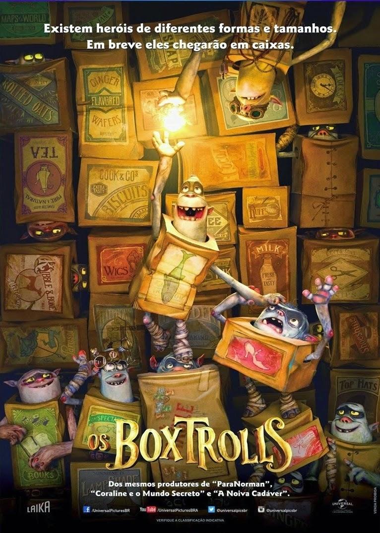 Os Boxtrolls – Legendado (2014)