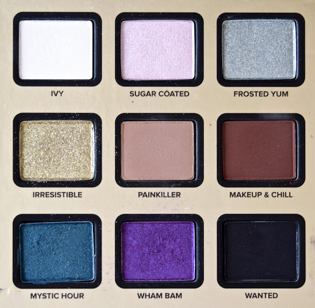 a picture of Too Faced x NikkieTutorials The Power of Makeup Collection (eyeshadows)