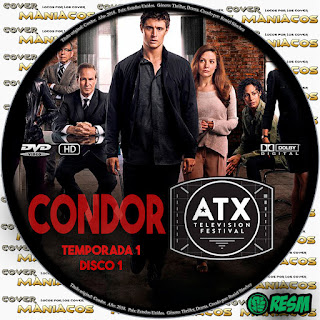 GALLETA 1 CONDOR - 2018 - TEMPORADA 1 [SERIE TV]