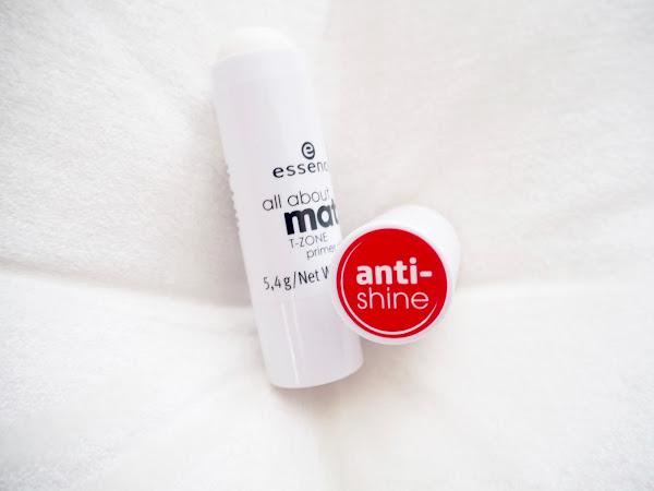 Edullinen pohjustusvoide rasvoittuvalle iholle - Essence All About Matt! T-Zone Primer (Anti Shine)