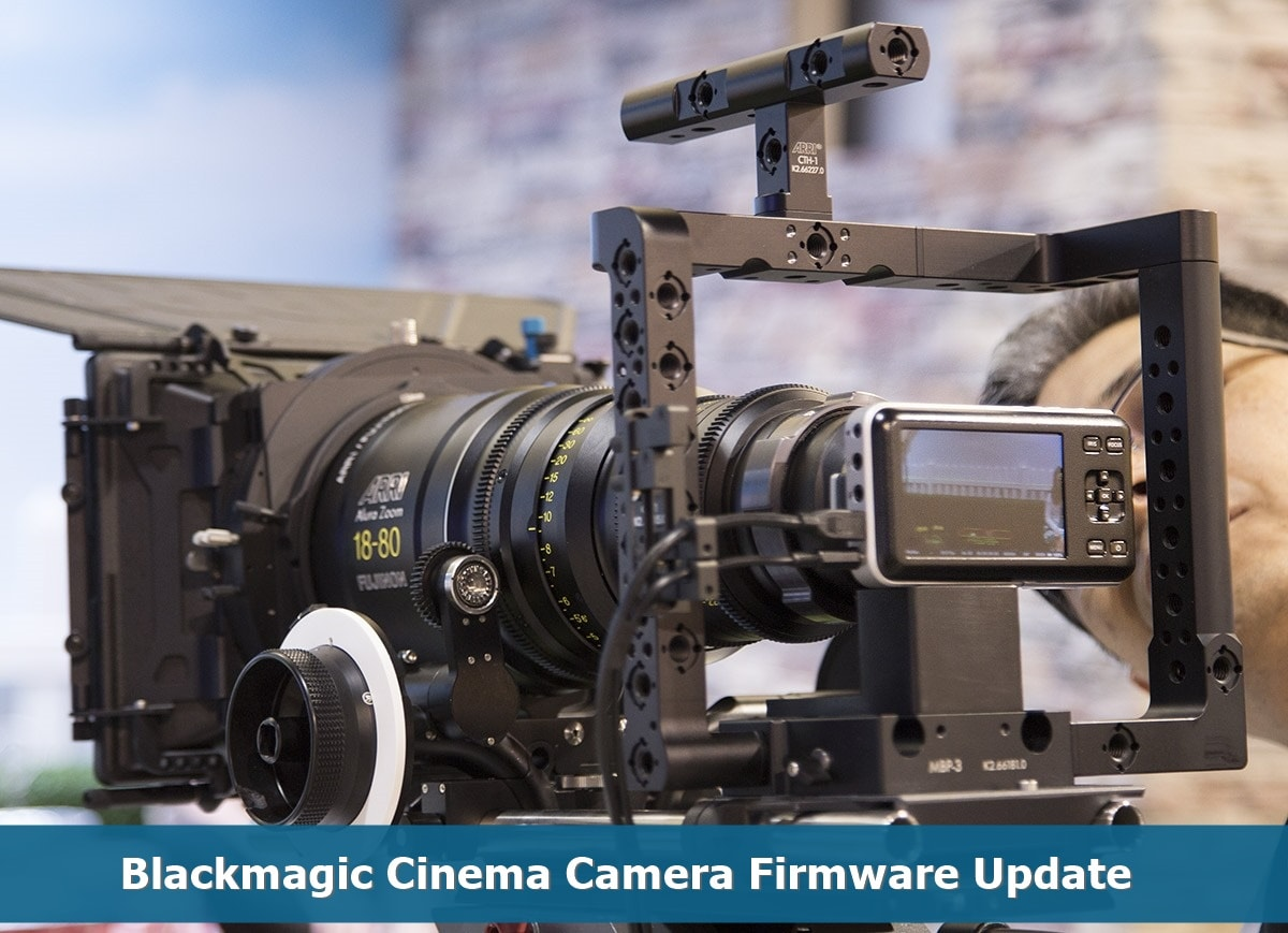 Blackmagic Cinema Camera Firmware
