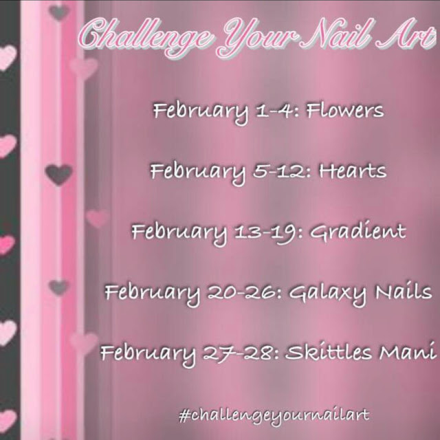 Challenge Your Nail Art February 2017