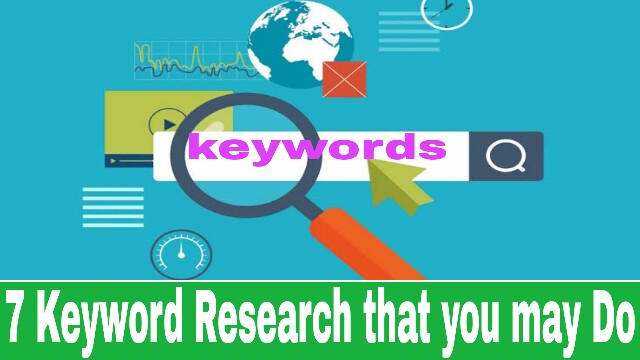 7 Keyword Research Mistakes That You May Do