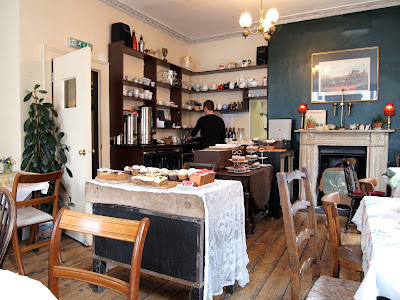 Soho's Secret Tearoom counter serving