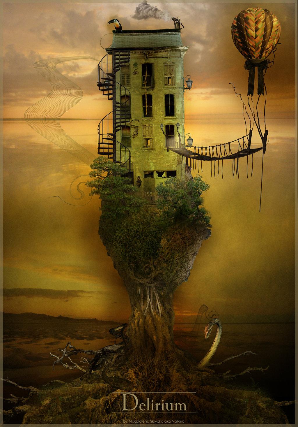 Architecture Lessons Photobot Surrealism Photoshop Ii