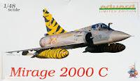 Eduard Mirage 2000 C  1/48.