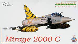Galerie photos de la maquette du Mirage 2000 C d'Eduard 1/48.