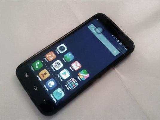Alcatel OneTouch Flash Plus front side