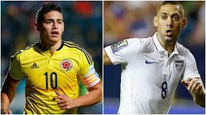 Estados Unidos vs Colombia, Copa América Centenario