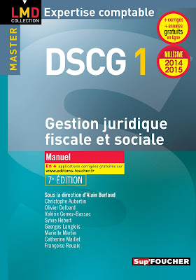 Télécharger Livre Gratuit DSCG 1 Gestion Juridique-Sociale et Fiscale-Manuel et Exos pdf