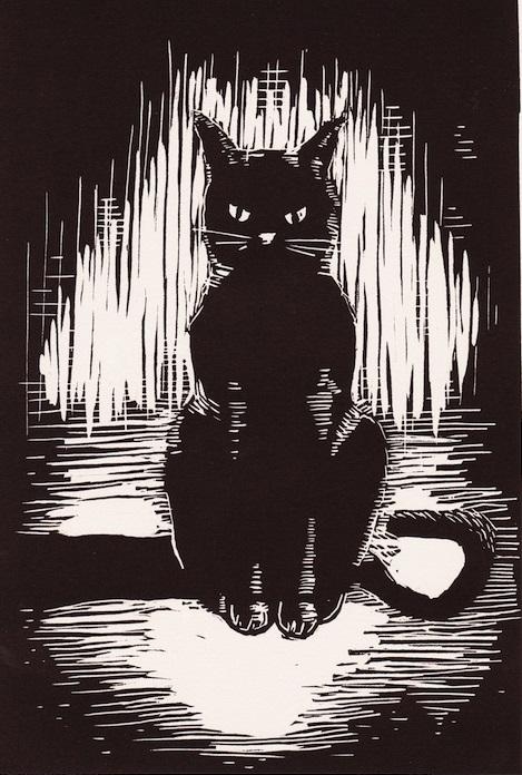 El bibli filo novel el gato negro relatos de poe i - El gato negro decoracion ...