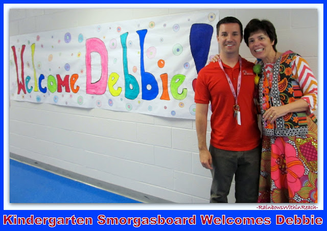 Author-Illustrator School Visit with Debbie Clement hosted by Kindergarten Smorgasboard