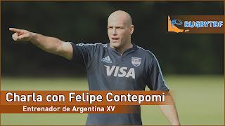 Exclusivo - Charla con Felipe Contepomi