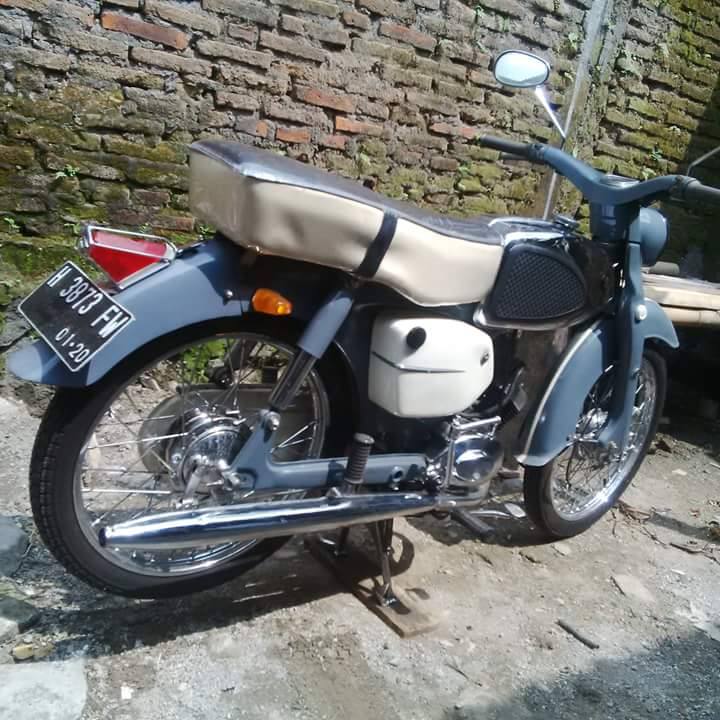 Motor Jadoel Suzuki MA 50cc Tahun 62