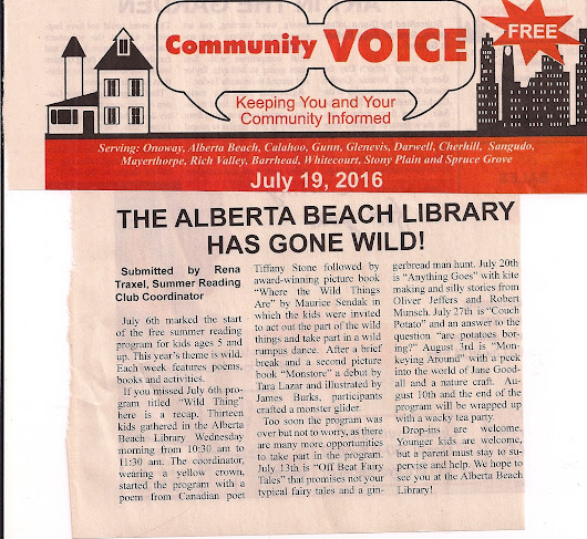 Program - Alberta Beach Library