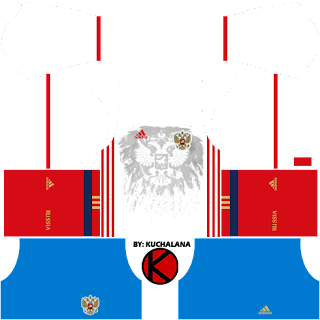 Russia Kits 2017 - Dream League Soccer