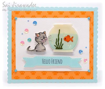 Magnolia Kitty Kit CAS Doohickey Fish Bowl