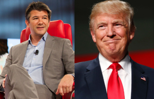 uber ceo quit trump adviser