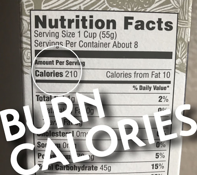 what is a calorie nutrition burn calories food