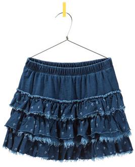 c20512092 Pequeña Fashionista: Tutorial: Falda de volantes