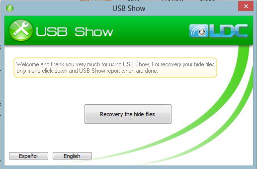 تحميل برنامج استرجاع الملفات المحذوفة من الفلاش ميموري 2017 USB Show